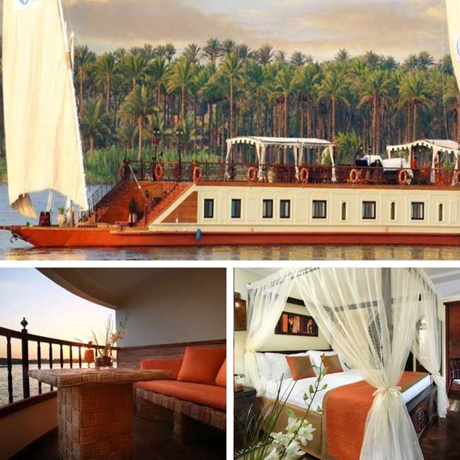 Sonesta Amirat Dahabiya - Nile river cruise, Travelive