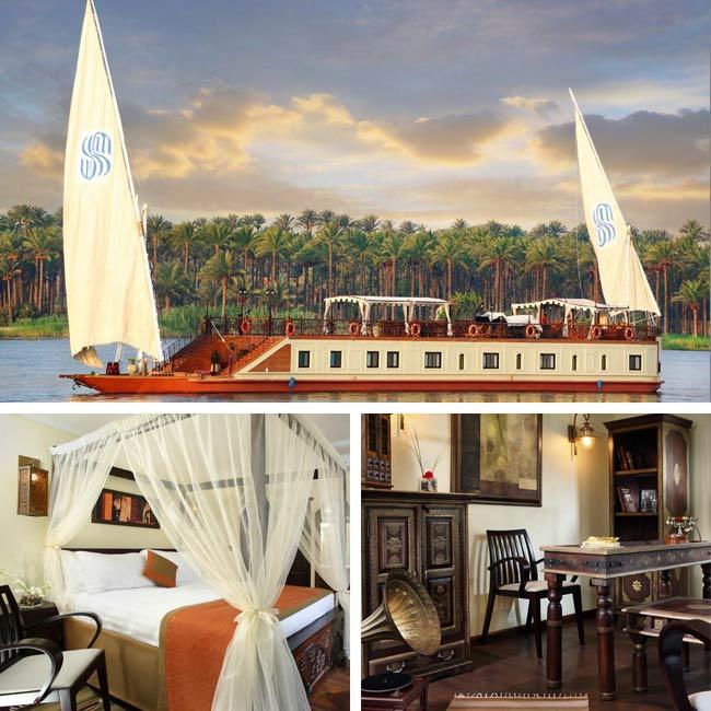 Sonesta Dahabeya - Nile river cruise, Travelive