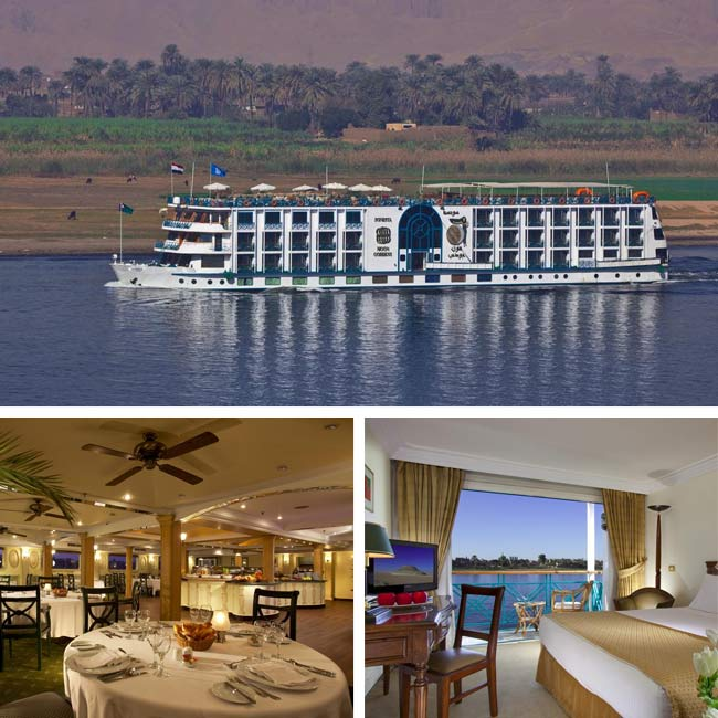 Sonesta Moon Goddess - Luxury Nile River Cruise, Travelive