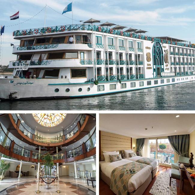 Sonesta Moon Goddess - Luxury Nile River Cruise, Travelive