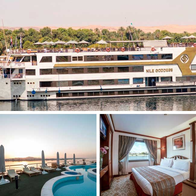 Sonesta Nile Goddess - Luxury Nile River Cruise, Travelive