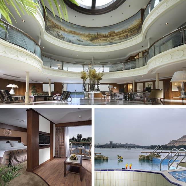 Sonesta Star Goddess - Nile river cruise, Travelive