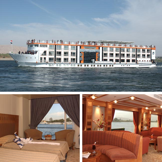 Luxurious Zen Resort: Nile Experience - Egypt Luxury Vacation Package