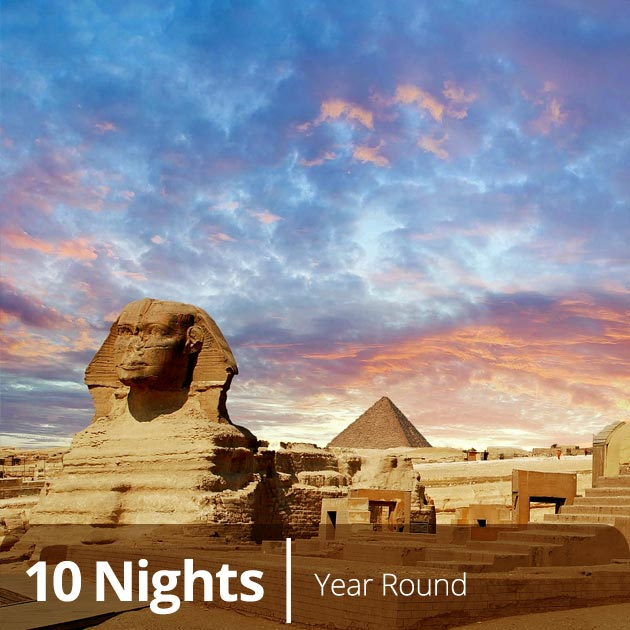 The Great Sphinx of Giza in Cairo - Honeymoon Getaways to Egypt with Travelive