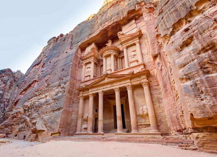 Al Khazneh Tomb – Petra, Egypt and Jordan Combine tours by Travelive