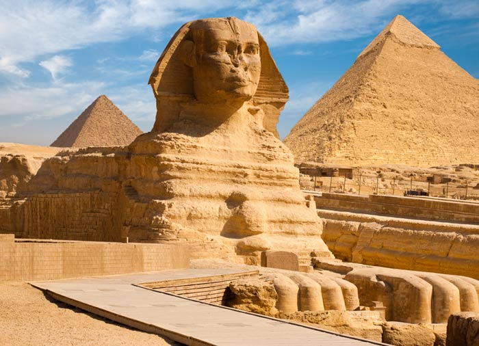 Pyramids – Sphinx, Giza, Egypt and Jordan Combined tours with Travelive, luxury travel agency