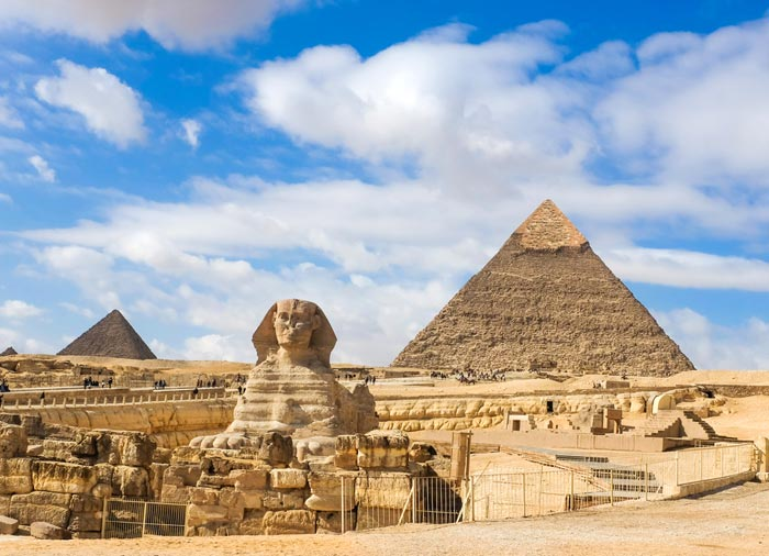 Giza Pyramids – Sphinx, Cairo Honeymoon tours with Travelive, luxury travel agency