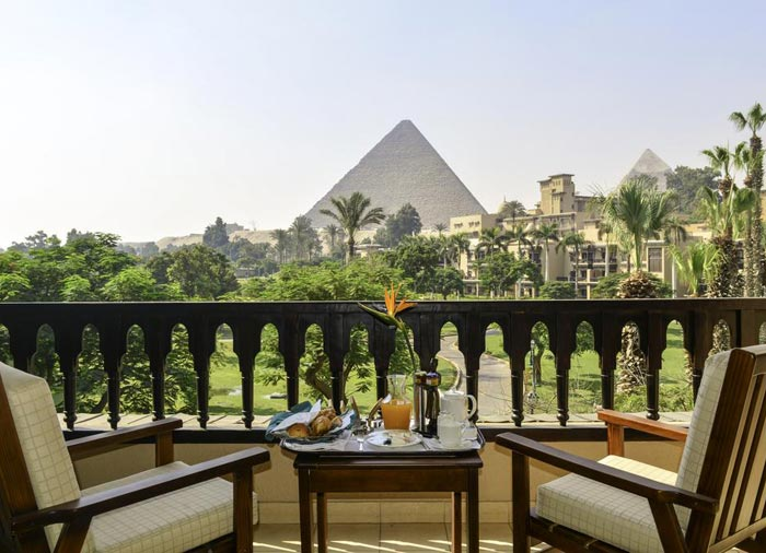 Mena House – Cairo Honeymoon tours with Travelive, luxury travel agency, Nile Romance