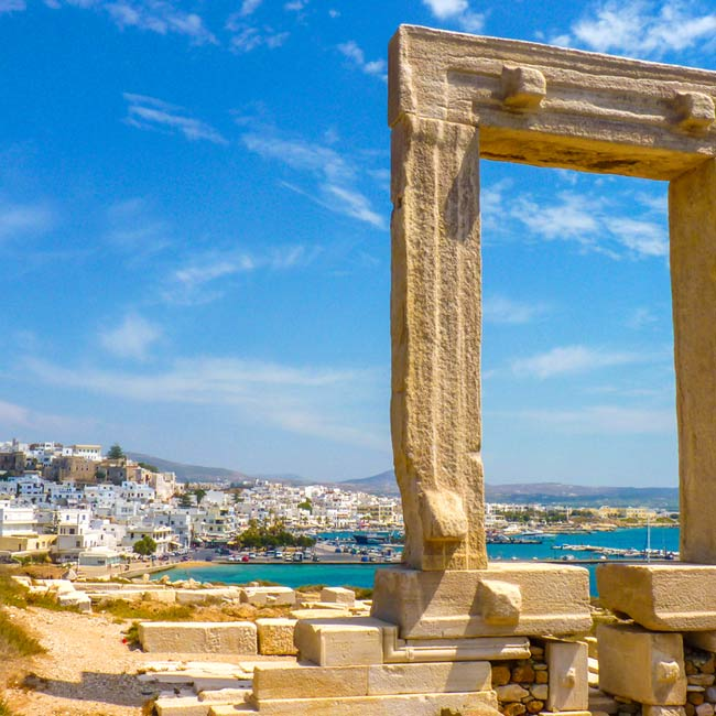 Apollo Temple – Naxos Island, luxury travel with Travelive, top destinations in Greece
