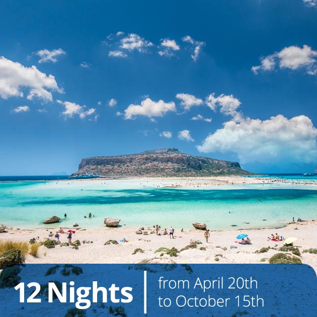 Balos Lagoon – Crete Island, Vacation Specials with Travelive