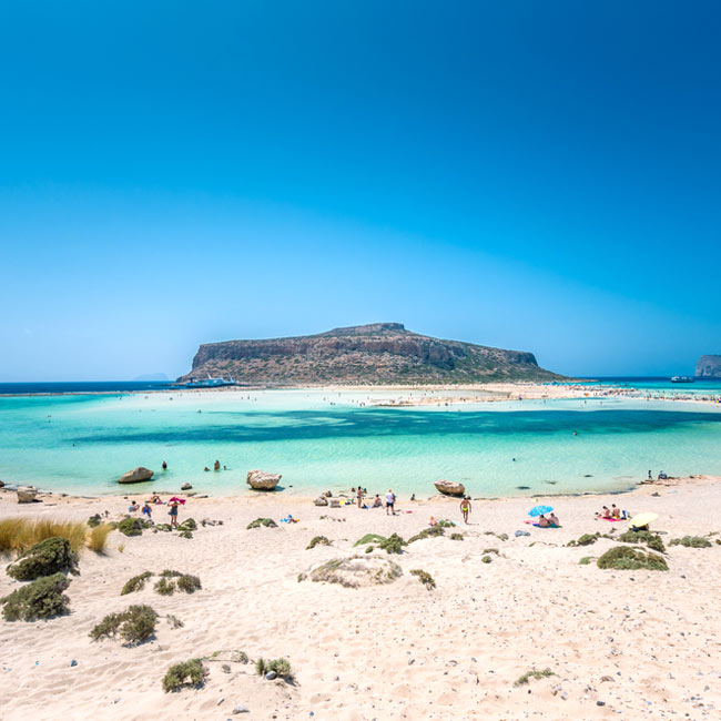 Balos Lagoon – Crete Island, Explore Greece holiday destinations with Travelive