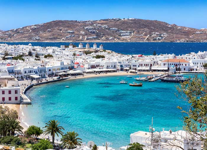 Mykonos Island – Mykonos honeymoon packages with Travelive, luxury travel agency