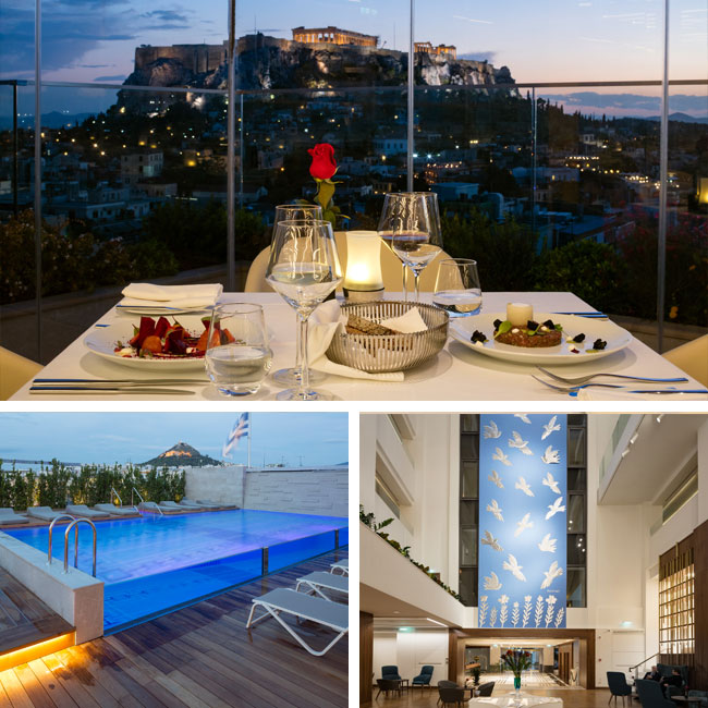 Electra Metropolis Athens Hotel - Hotels in Athens Greece, Travelive
