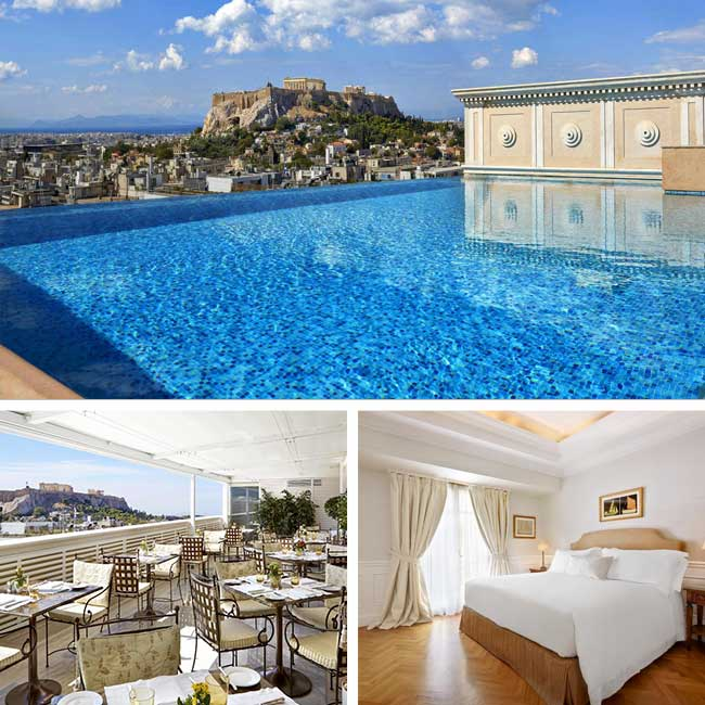 King George Hotel - Hotels in Athens Greece, Travelive