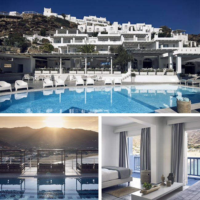 Ios Palace Hotel and Spa - Hotels in Ios Greece, Travelive