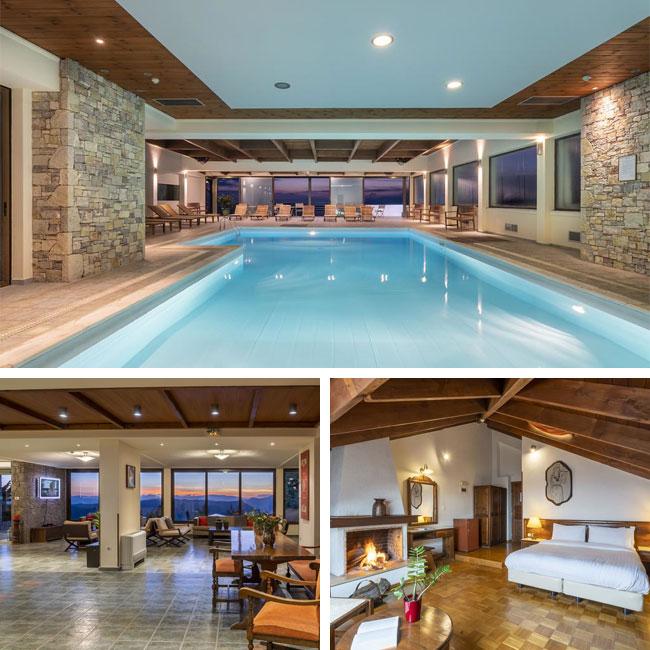 Anemolia Resort - Luxury hotels in Arachova, Mainland Greece, Travelive