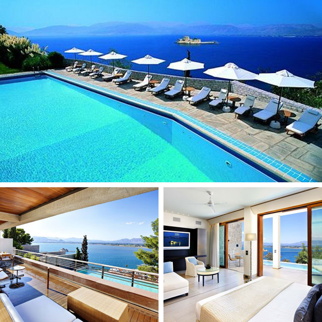 Nafplia Palace Hotel & Villas - Luxury hotels in Nafplion, Peloponnese Greece, Travelive