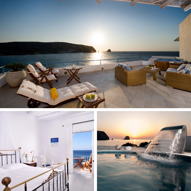 Melian Boutique Hotel & Spa - Luxury hotels Milos, Travelive