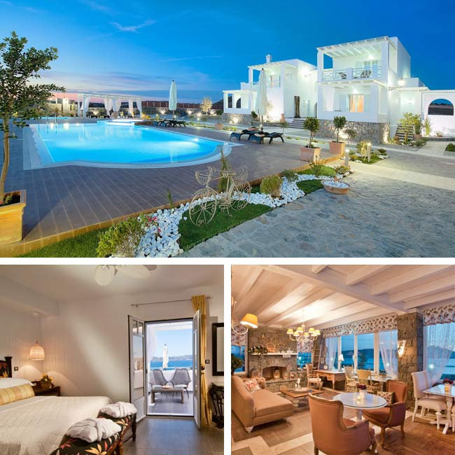 Miland Suites - Hotels in Milos, Travelive