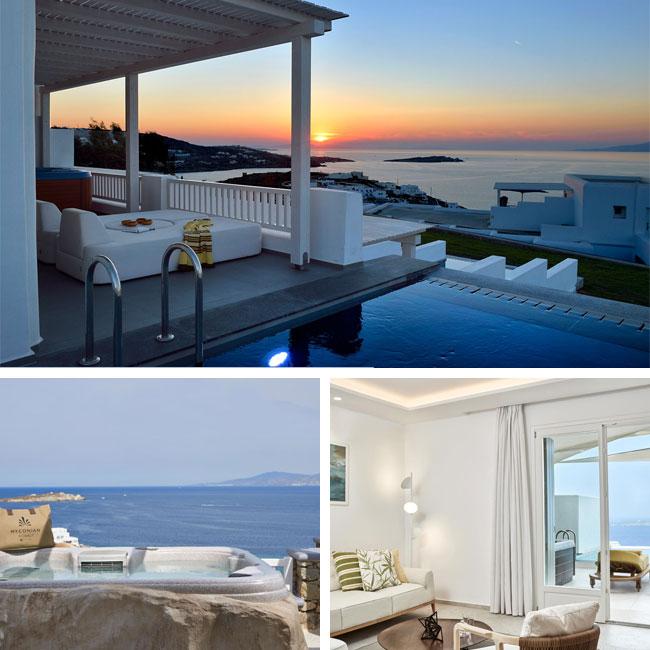 Myconian Korali Relais & Châteaux - Luxury hotels Mykonos, Travelive