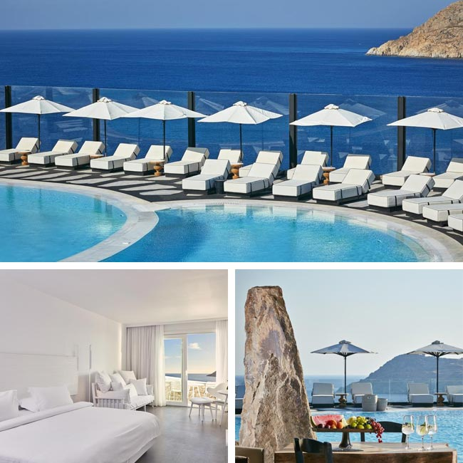 Royal Myconian Resort - Luxury hotels in Mykonos, Travelive