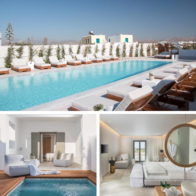 18 Grapes Hotel - Hotels in Naxos, Travelive