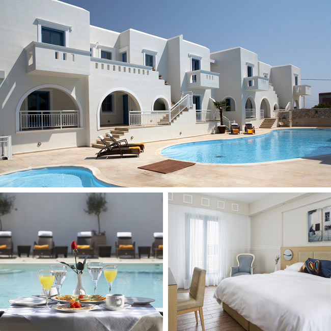 Lagos Mare Hotel - Hotels in Naxos, Travelive
