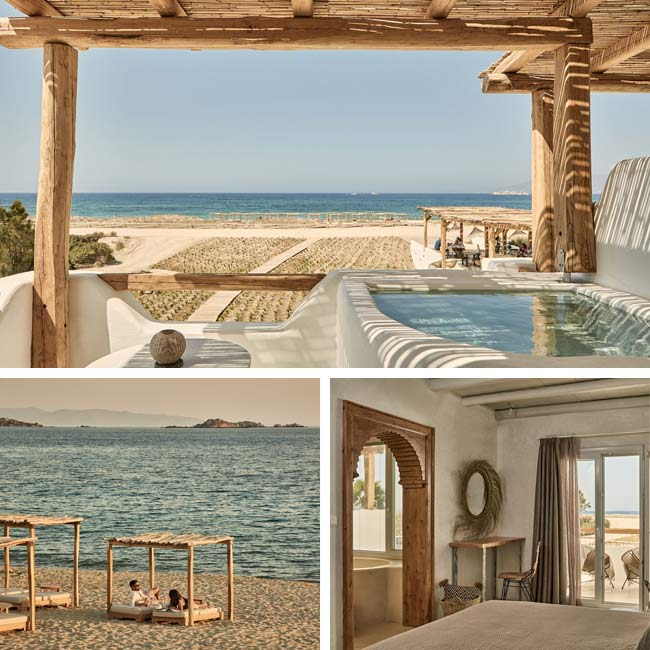 Naxian On The Beach - Hotels in Naxos, Travelive