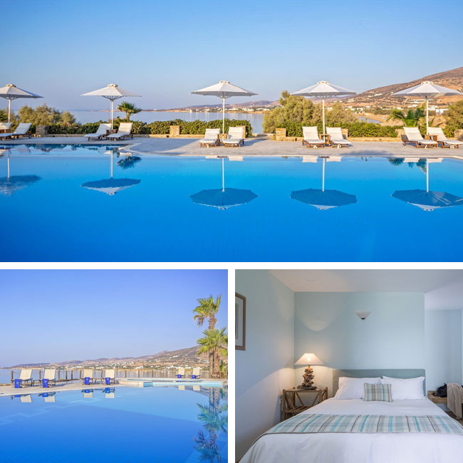 Poseidon of Paros - Hotels in Paros, Travelive