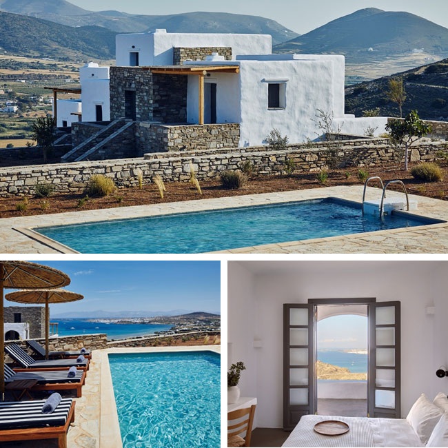 Yria Island Boutique Hotel & Spa - Hotels in Paros, Travelive