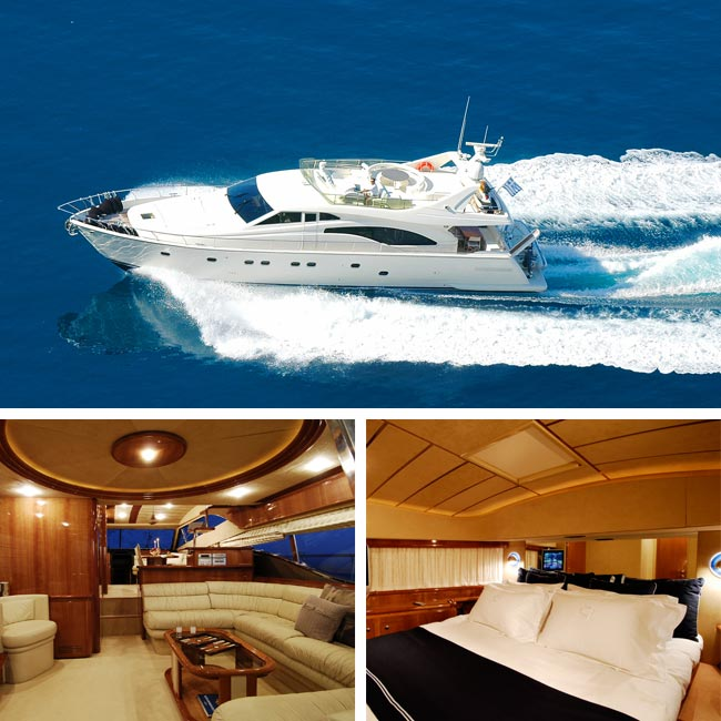 Alexandros Motor Yacht - Luxury Yachts Greece, Travelive
