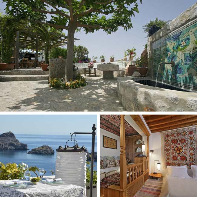 Melenos Lindos - Rhodes hotels, Travelive