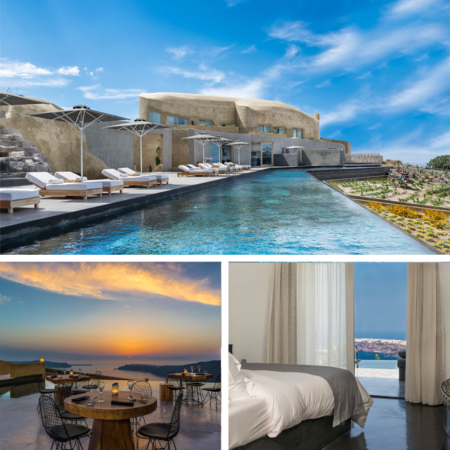 Andronis Concept Wellness Resort - Santorini Hotels, Travelive