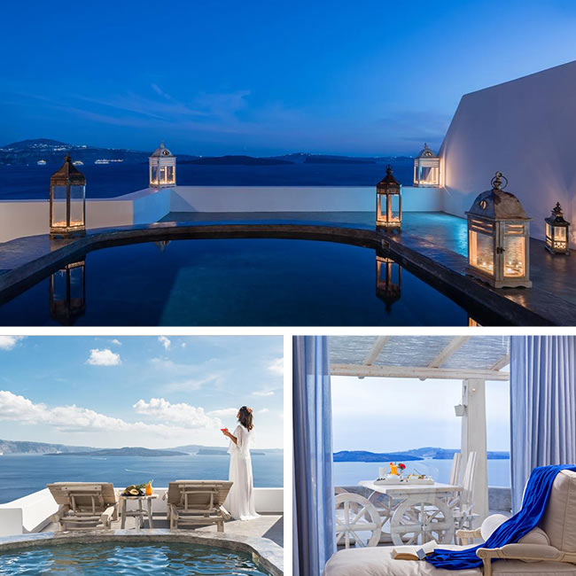 Andronis Luxury Suites - Santorini Hotels, Travelive