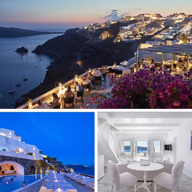 Canaves Oia Suites - Santorini Hotels, Travelive