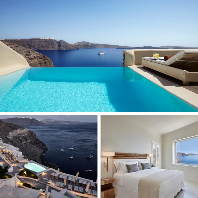 Mystique, a Luxury Collection Hotel - Santorini Greece Hotels, Travelive