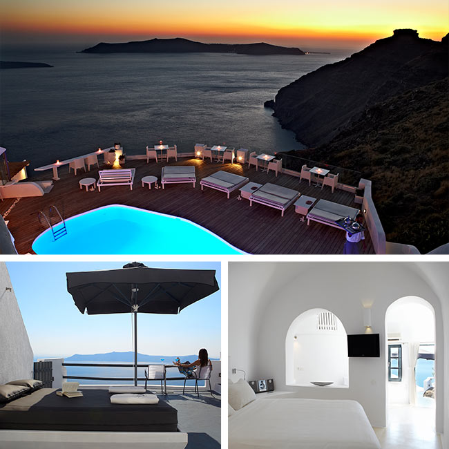 Sun Rocks Hotel - Santorini Luxury Hotels, Travelive