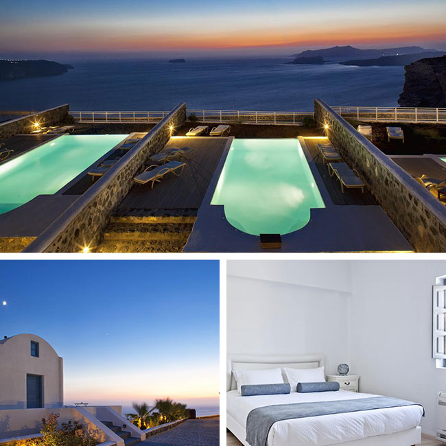 Thermes Luxury Villas - Luxury Villas Santorini, Travelive