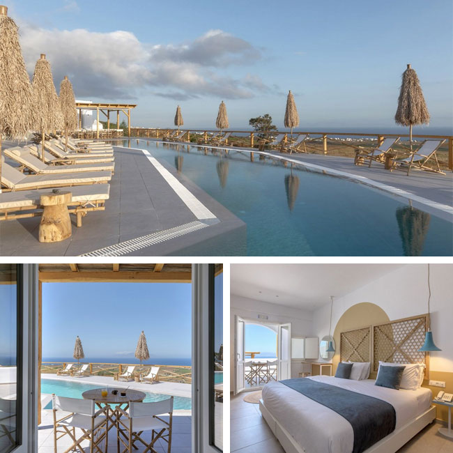 View Hotel by Secret - Santorini Hotels, Travelive