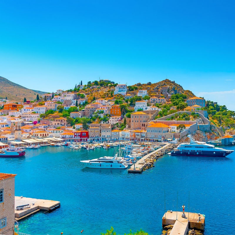 Hydra island – beautiful beaches, Greece holiday destinations, relax with Travelive