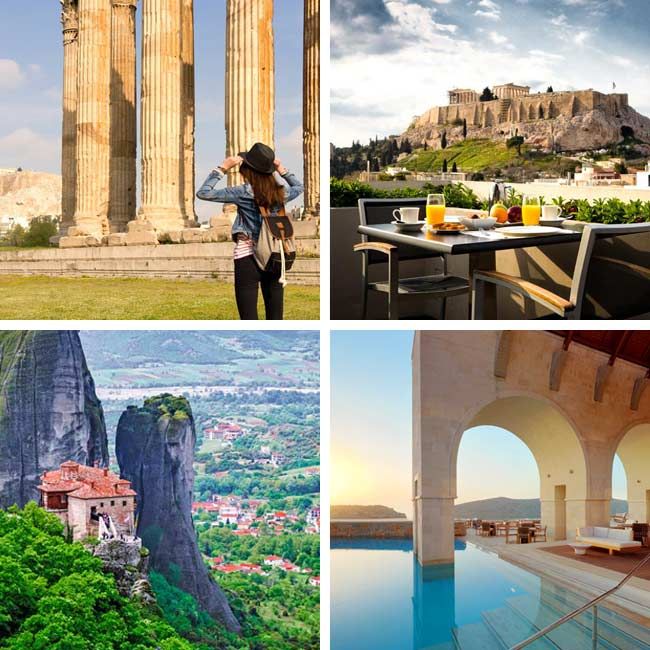 Athens, Meteora, Crete - Vacation Deals to Greece