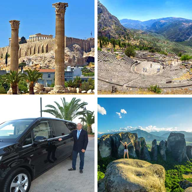 Athens, Delphi, Meteora - Vacation Deals to Mainland Greece