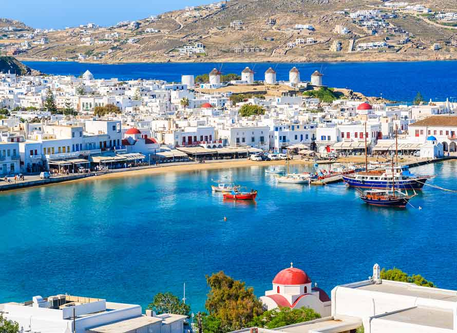Mykonos Island – Mykonos Old Port, Top Luxury Travel Greece Destination