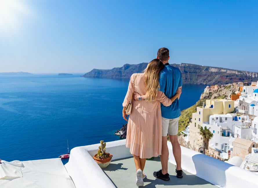 Santorini Island, Luxury Travel Greece, Honeymoon
