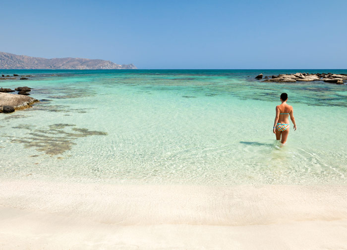 Beach in Crete – Aegean Elegance, Vacation Packages in Athens Crete Santorini, Travelive