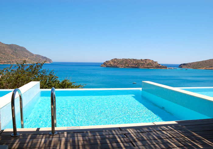 Swimming pool – Athens Crete Santorini Travel, luxury hotel Crete