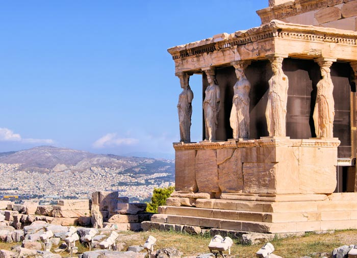 Erectheion – Acropolis, Athens honeymoon tour with Travelive, luxury travel agency