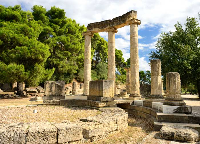 Ancient Olympia ruins - Athens to Olympia tour with Travelive, luxury travel agency