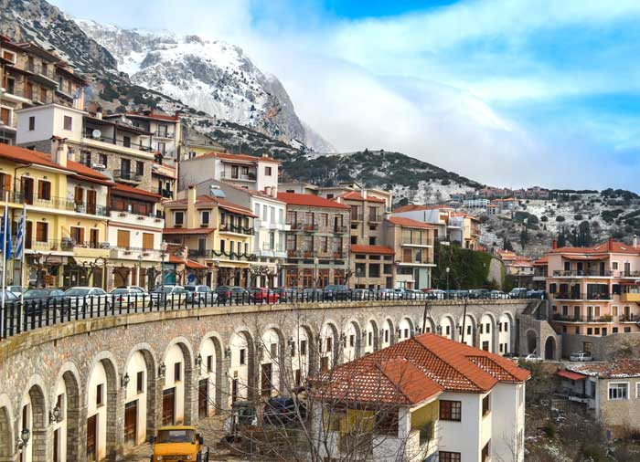 Arachova - mainland Greece holiday tours with Travelive, luxury travel agency