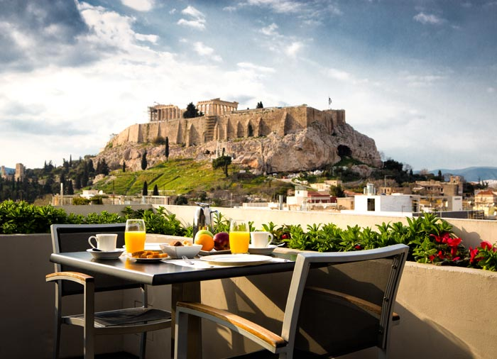 Panoramic view – Acropolis in Athens, mainland Greece holiday tours with Travelive